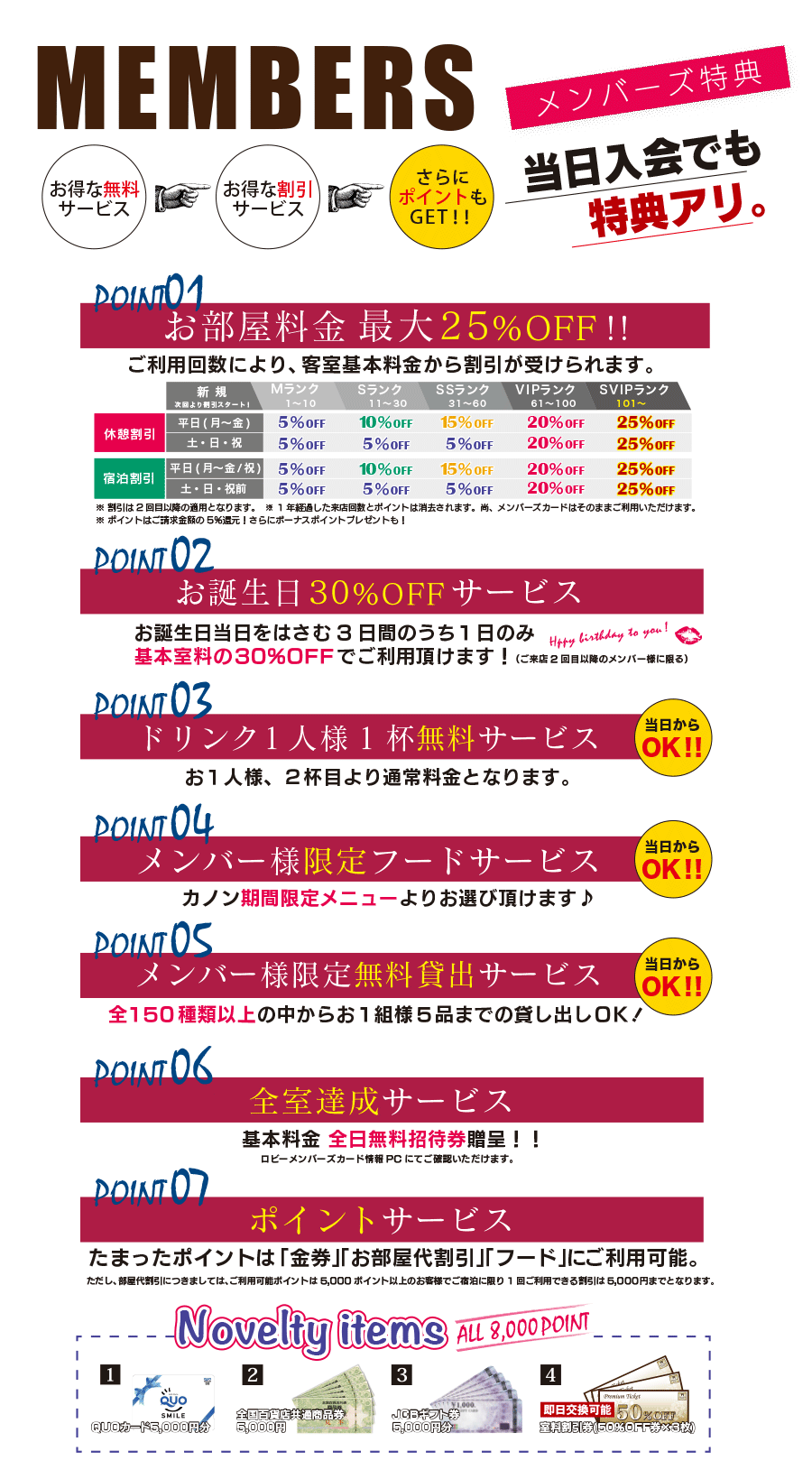 メンバー特典サービス01
